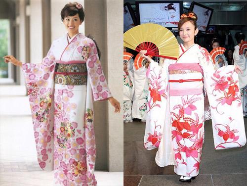 suc hut tu trang phuc truyen thong kimono - 9